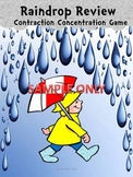 Raindrop Contraction Concentration Game + 30 Game Cards