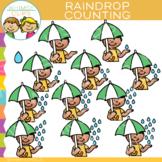 Raindrop Counting Clip Art