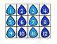 Raindrop Hundreds Chart Numbers (1-120)
