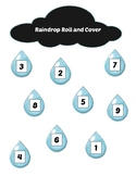 Raindrop Roll and Cover Game