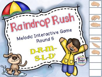 Raindrop Rush - Round 5 (D-R-M-S-L-D')