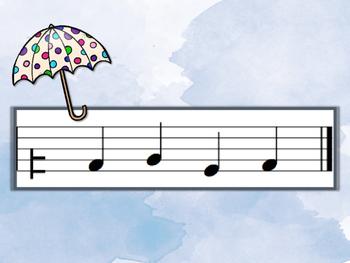 Raindrop Rush - Round 8 (S,-L,-T,-D-R-M-F-S-L-T-D')