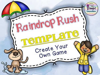 Raindrop Rush Template  - Create Your Own Game