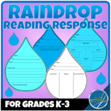 Raindrop Shaped Reading Response Sheets for Any Book