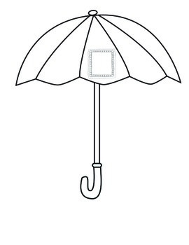Raindrop Tens and Ones Craftivity