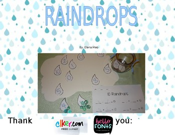 Raindrops Addition