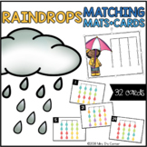 Raindrops Matching Mats and Activity Cards (Patterns, Colo