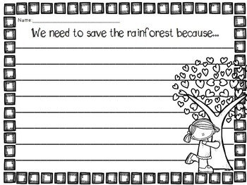 Rainforest {Research Companion}