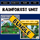 Layers of the Rainforest Bundle: Articles, Activities, Vocabulary & Flip Book