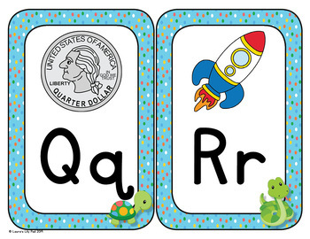 Rainforest Alphabet Signs