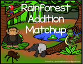 Rainforest Animal Match : Common Core