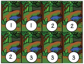 Rainforest Animal Match : Common Core