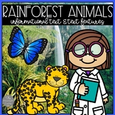 Rainforest Animal Research and Text Features Unit