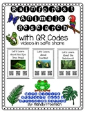 Rainforest Animal Research with QR Code Posters & Nonficti