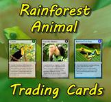 Rainforest Animal Trading Cards