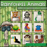 Rainforest Animal Writing and Craft