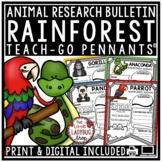 Rainforest Animals Research Project & Rubric • Teach- Go P