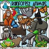 Rainforest Animals Clip Art Set - Chirp Graphics
