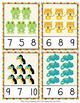 Rainforest Animals Count and Clip Cards Numbers 1-12