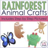 Rainforest Animals Crafts