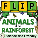 Rainforest Animals FLIP Book