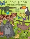 Rainforest Animals Graphic Pack