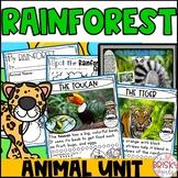 Rainforest Animals Kindergarten with PowerPoint