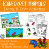 Rainforest Animals Mini Books