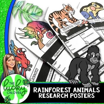 Rainforest Animals Research | Animal Research Project |