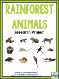 Rainforest Animals Research Project