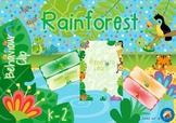 Rainforest Animals Themed Behaviour Clip