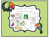 Rainforest Animals for Toddlers