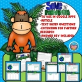 Rainforest Article & Tracking Down Text Evidence Questions