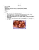 Rainforest Bake Sale Food Recipes
