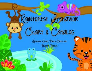 Rainforest Behavior Chart & Catalog