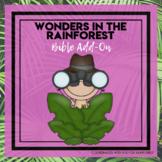 Rainforest Bible Add-On Mini Unit Lessons