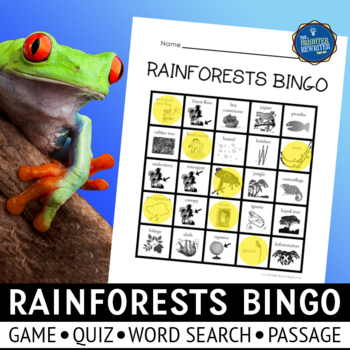 Rainforest Bingo