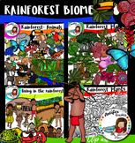 Rainforest Biome- 136 items!
