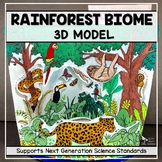 Rainforest Biome Model - 3D Model - Biome Project - Distance Learning
