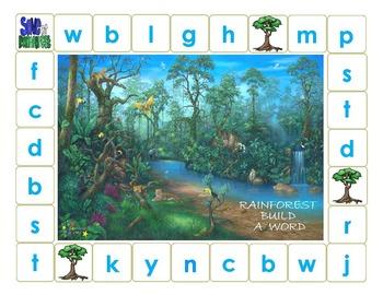 Rainforest Build a Word