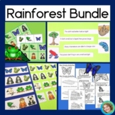 Rainforest Bundle with Patterns, Guided Reading and Bingo Game