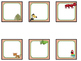 Rainforest Calendar Pieces and Nametags