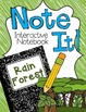 Rainforest Close Read and Interactive Notebook Bundle