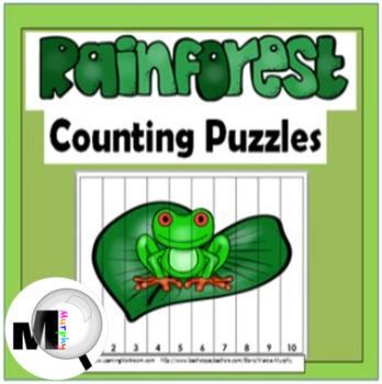 Rainforest Math Number Puzzles
