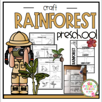 Rainforest Animals and Plants Coloring Page | Rainforest Alliance | 349x350