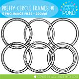 Pretty Circle Frames