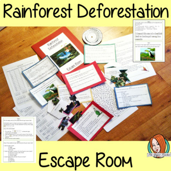 Rainforest Deforestation Escape Room Game