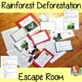 Rainforest Deforestation Escape Room Game