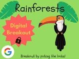 Rainforest - Digital Breakout! (Escape Room, Scavenger Hunt)