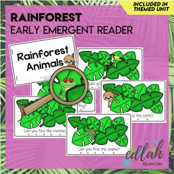 Rainforest Early Emergent Reader